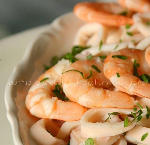 Profumi in cucina insalata di mare agli aromi - Aromi in cucina ...