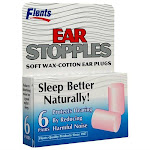 Flents Ear Stopples Soft Wax-cotton Ear Plugs - 12 pack