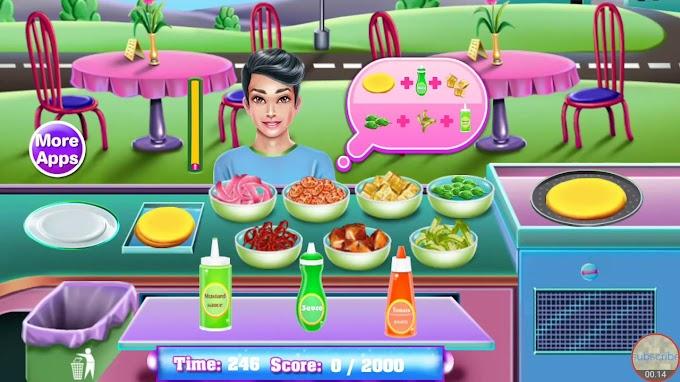 Games Online Memasak Pizza Dan Burger