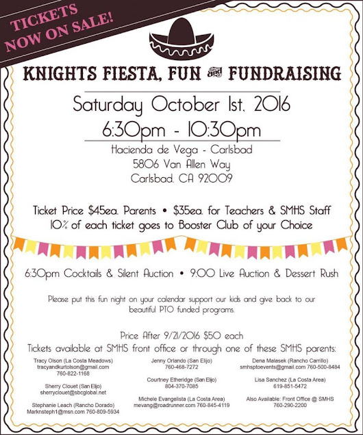 San Marcos High Knights Fiesta Fun & Fundraiser