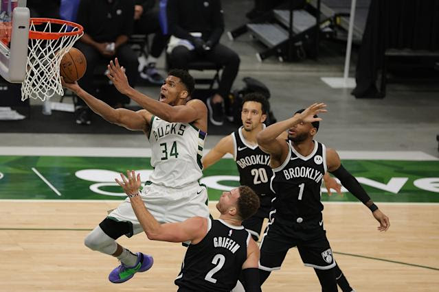 NBA playoff tracker: The top seed in the East slipping away from Nets, Bucks