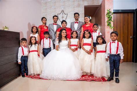 Bridal Entourage. White, Red, Blue, Grey. Christmas