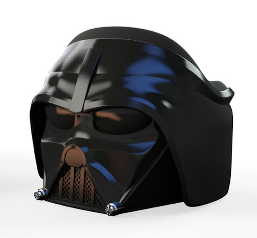 Darth Vader Helmet Armchair: The Dark Side of the Furniture - Technabob
