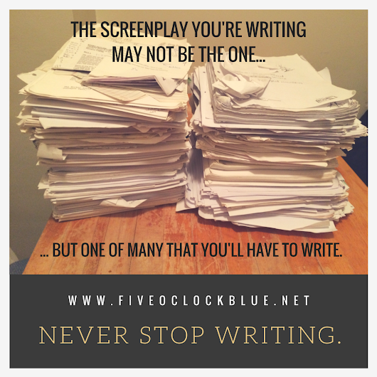 Five important questions to ask before you start working with a screenwriting partner…
