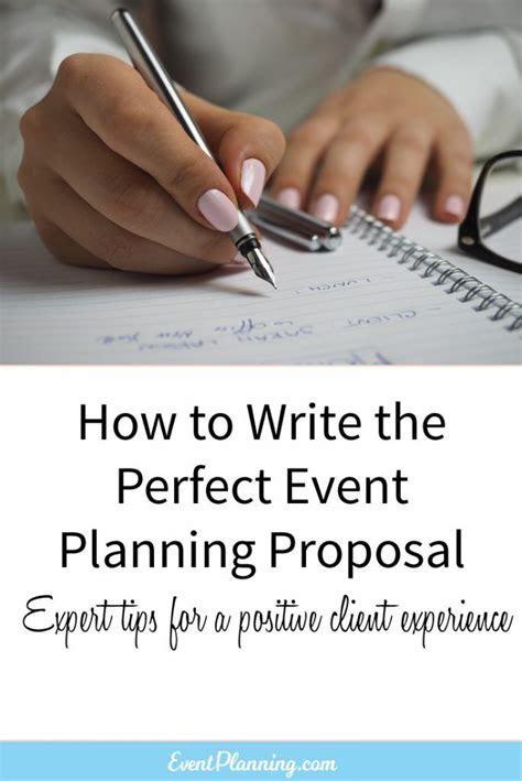 25  best ideas about Event proposal on Pinterest