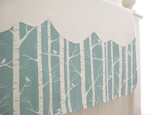 little forest organic blanket by GreenThreadShop