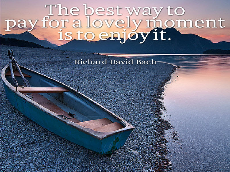 Richard David Bach Quote About Enjoying Life Awesome Quotes About Life