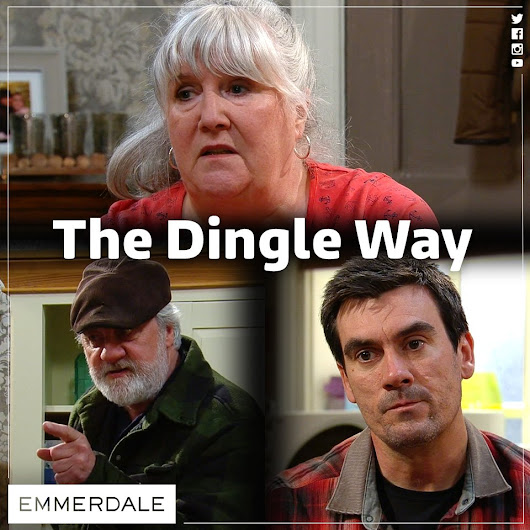 "Emmerdale på Twitter: ""Zak and Cain seem to want to use the 'Dingle Way' Lisa! #Emmerdale """