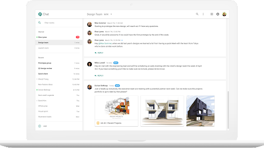 Google Hangouts is getting a major overhaul to take on Slack