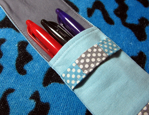 zakka pencil case pens