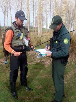 Agentes Forestales y Medioambientales reclaman el ejercicio de sus competencias