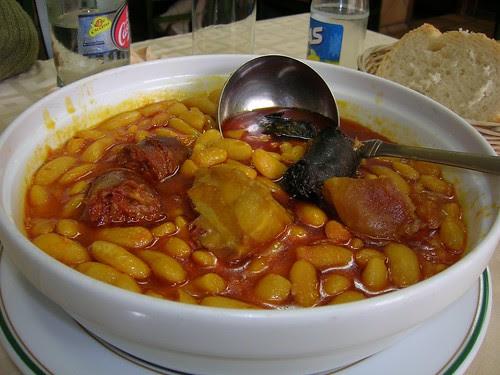 Fabada asturiana / Asturian white bean stew