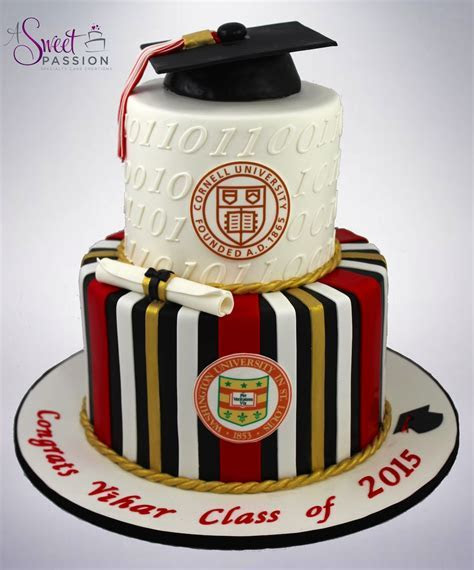 Binary Graduation Cake ? Sweet Passion Cakery