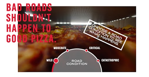 LOVE this Dominos campaign! Nominate LA, San Diego, Riverside, OC and San Bernardino! #californiaroads...