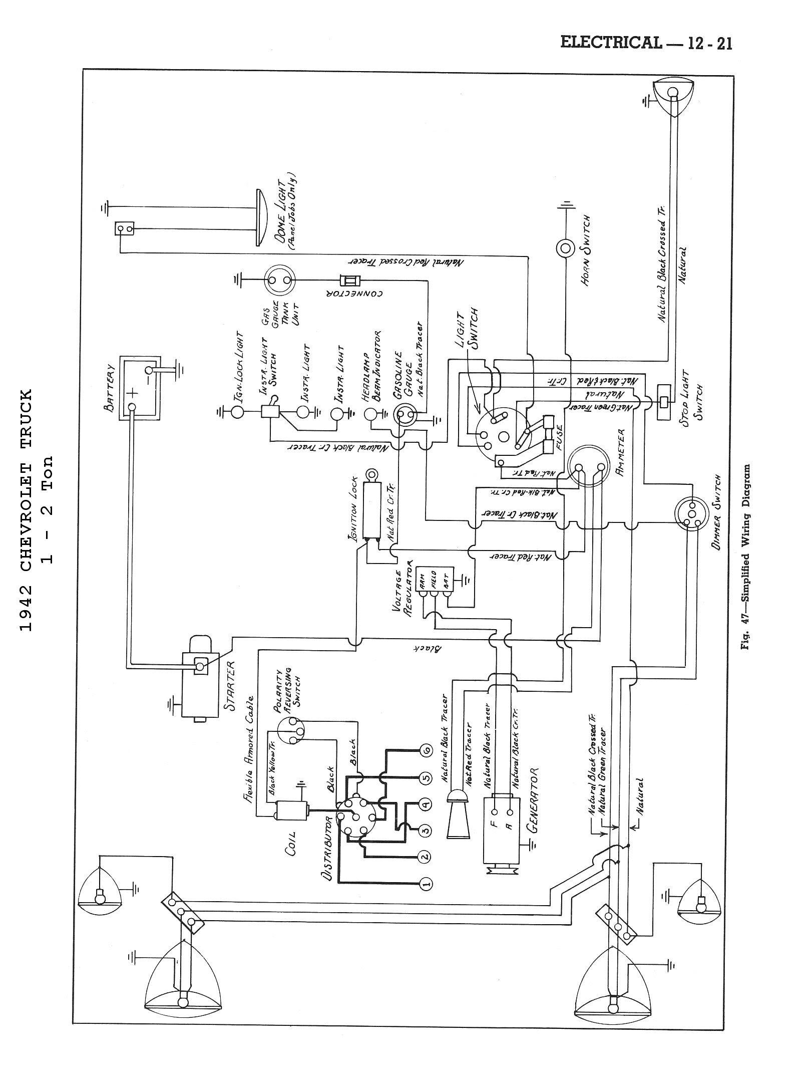 Wiring Diagram PDF: 1934 Dodge Wiring Diagram Schematic