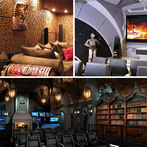 6 Popcorn-Spilling, Oscar-Worthy Themed Home Theaters | Urbanist