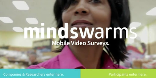 Mindswarms: Get Paid $50 for Every Video Survey