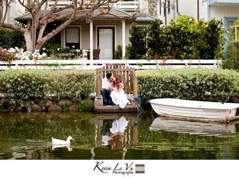 Kevin and Joy   Venice Canals Engagement Session   Los