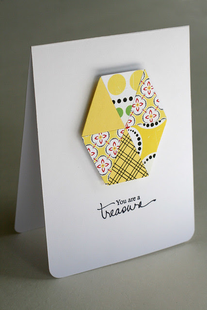 cosmo cricket yellow hexagon treasure card_edited-1
