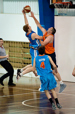 Tom Garlepp - Cairns Taipans v Gold Coast Blaze Pre-season  NBL Basketball, Auchenflower, Brisbane, Queensland, Australia; 3 September 2011. Photos by Des Thureson:  http://disci.smugmug.com.