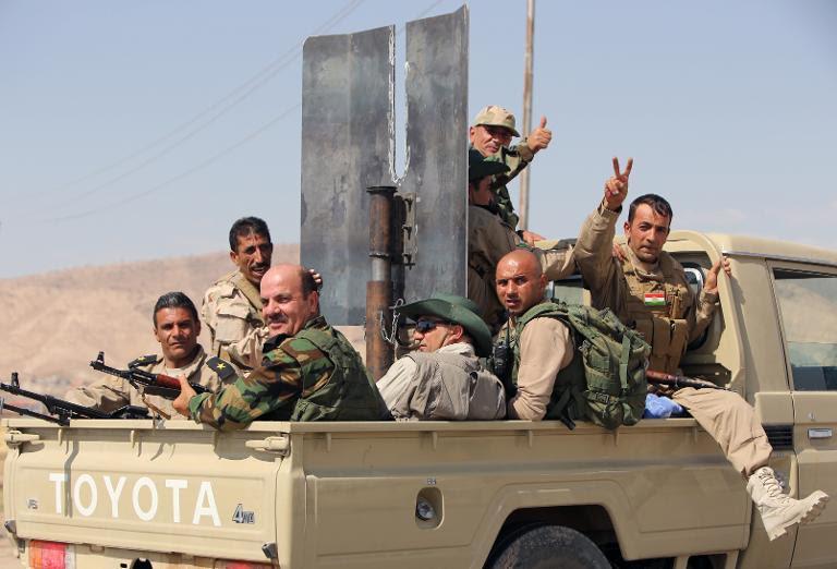 Iraqi forces break jihadist siege of Amerli: officials