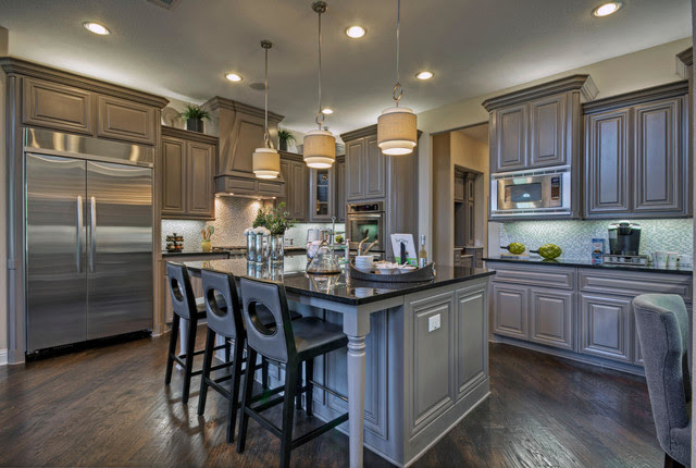 Toll Brothers Plano, TX Model contemporary-kitchen