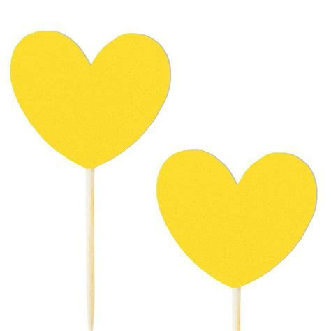 10 pics coeur jaune   www.savethedeco.com