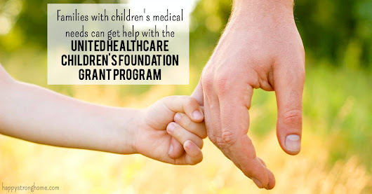 Grant program for children with medical needs!