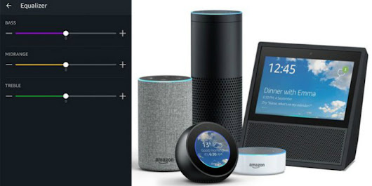 Amazon's Echo Devices Gain Voice-Controlled Audio Equalizer Settings