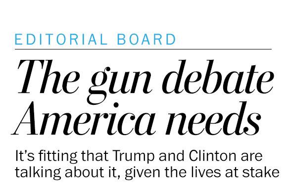 The gun debate America needs to have