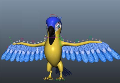 Modelling & Rigging a Cartoon Parrot in Maya: Part 12 - Envato Tuts+ 3D & Motion Graphics Tutorial