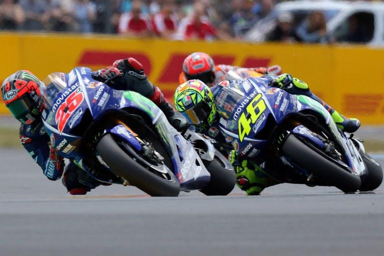 Η αγωνιστική κόντρα με τον Vinales είχε το αποτέλεσμα που όλοι οι φίλοι του MotoGP είδαν στους δέκτες τους...