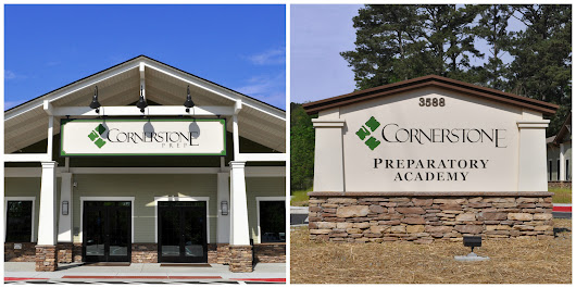 School Campus Signage Project Highlight: Cornerstone Preparatory