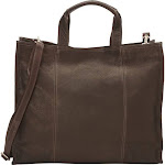 Piel Leather 3091 - CHC Carry - All Tote - Chocolate