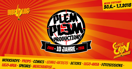 Plem Plem Productions - CCON | COMIC CON GERMANY