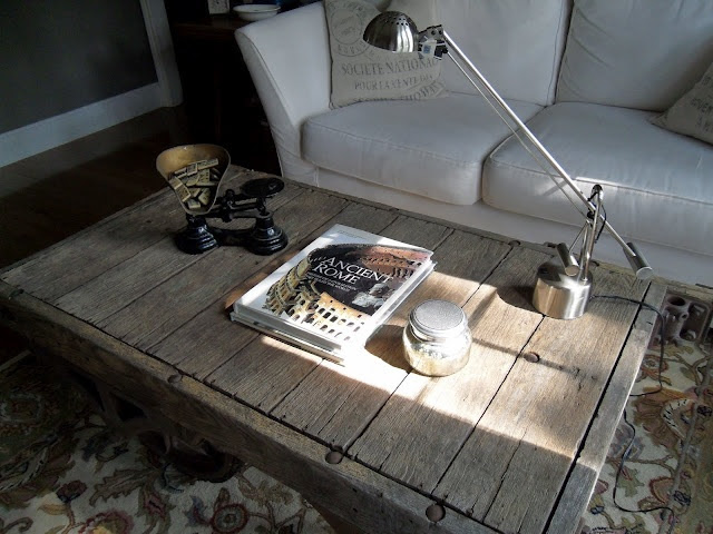 Tattered Style: coffee table