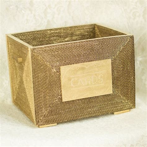 Gorgeous gold card box with 1920's flare #layeredny