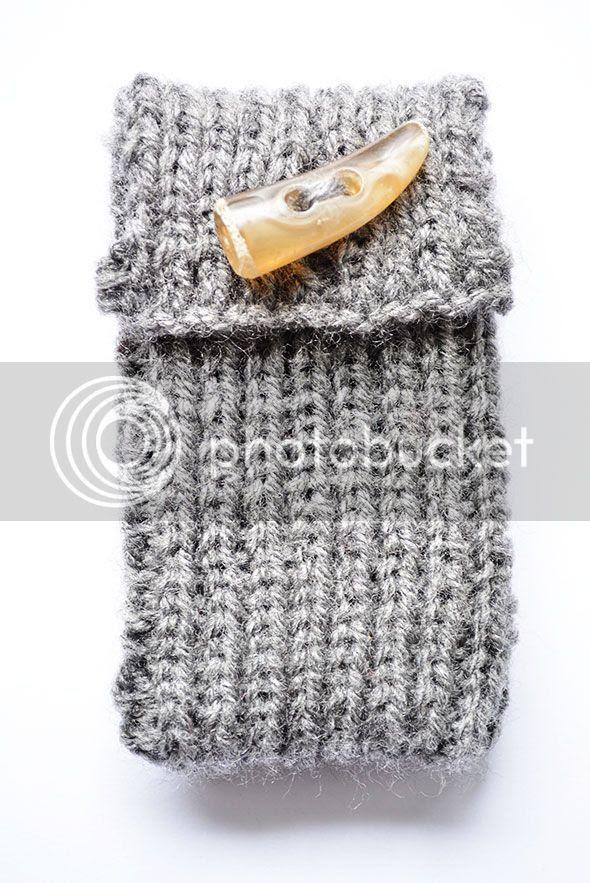 iPhone- smartphonehoesje breien