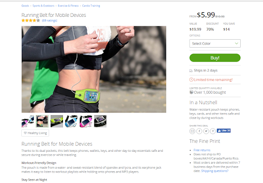 Frugal Fitness Finds with Groupon Goods - Pennies In My Pocket