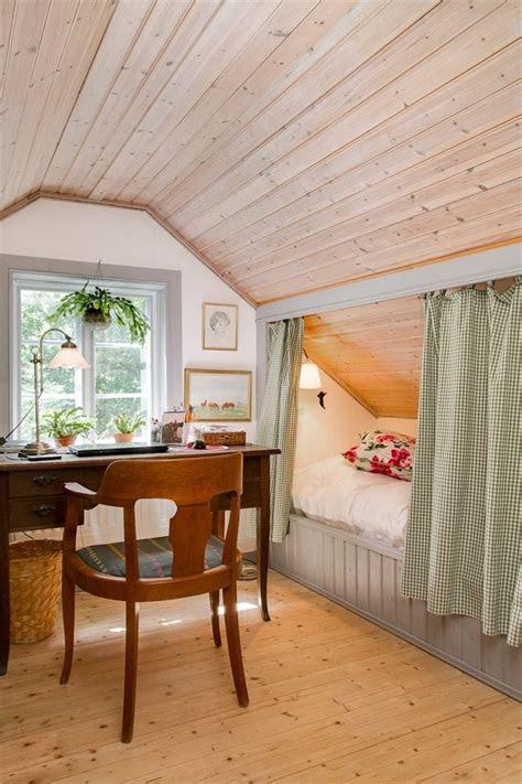 sloped ceiling bedroom ideas  pinterest