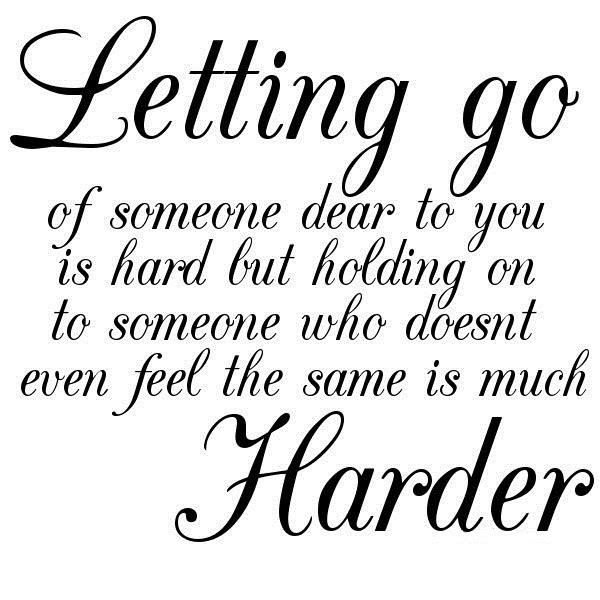 Yoddler Letting Go Of Someone Dear To You Is Hard But Holding On