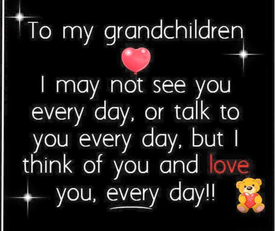 To My Grandchildren I Love You Pictures Photos And Images For
