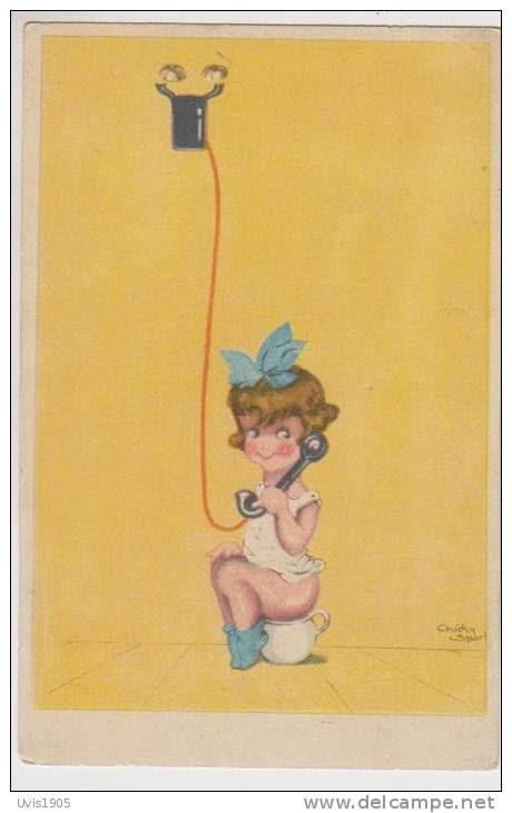 Chicky Spark.Girl With Telephone. - Spark, Chicky