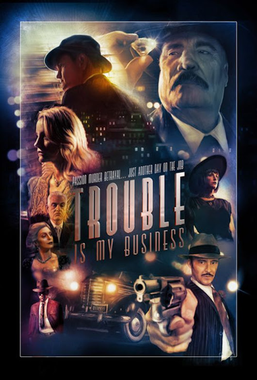 Trouble Is My Business [DVD] [2018]