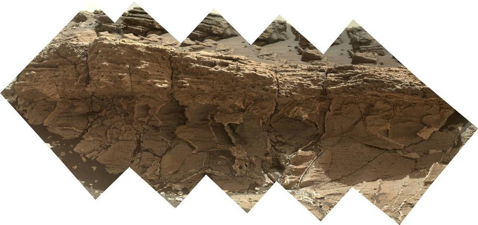 """A rock outcrop dubbed """"Missoula"""""""