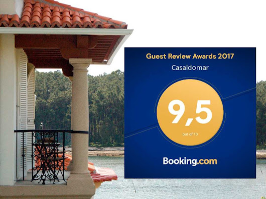 Guest Review Awards 2017 para Casaldomar - Casaldomar