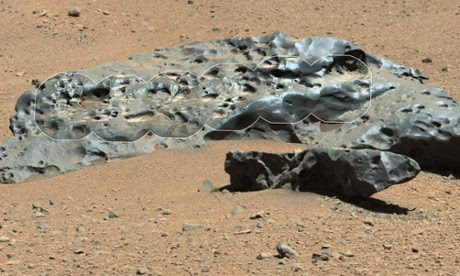 Nasa's Curiosity rover finds large iron meteorite on Mars