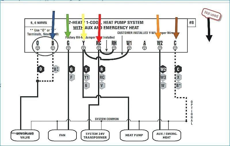 5 Wire Lux Thermostat Wiring Diagram / Lux Tx500 Series
