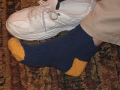 G-pa in sock