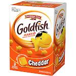 Pepperidge Farm Goldfish Crackers, Cheddar - 3 bags, 58 oz box